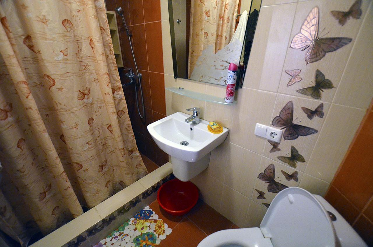 туалет, душ
